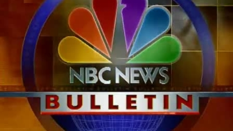 Thumbnail for entry NBC News Bulletin - Princess Diana's Death