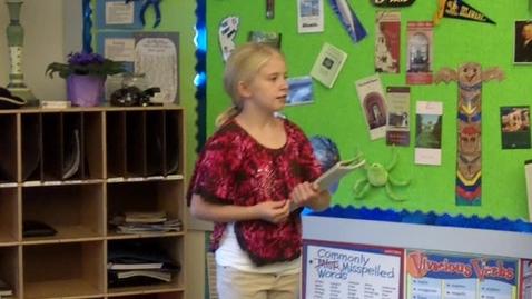 Thumbnail for entry 4th Grade Mrs. Bloom
