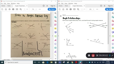 Thumbnail for entry Grade 7 - Math - Angle Relationships