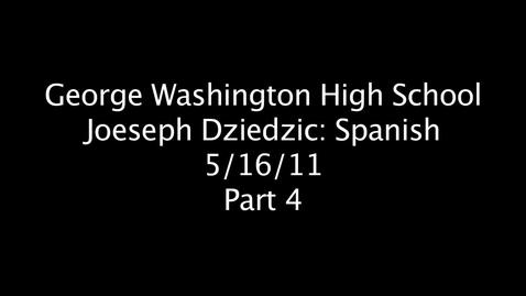 Thumbnail for entry Joeseph Dziedzic Part 4