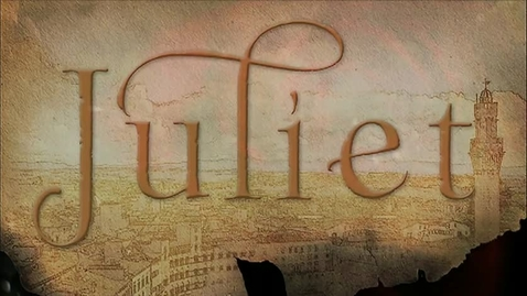 Thumbnail for entry Juliet Book Trailer