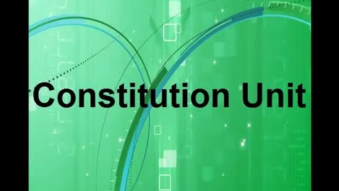 Thumbnail for entry Constitution Unit Russo