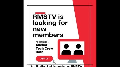 Thumbnail for entry 6.10.2021 Thursday RMSTV