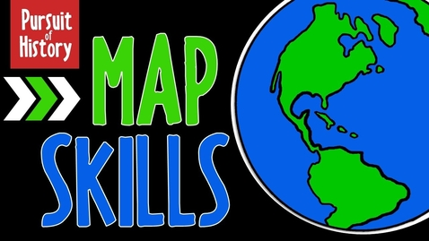Thumbnail for entry Map Skills: Geography, Latitude and Longitude
