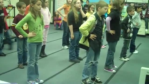 """Thumbnail for entry Fourth Grade Learning """"The Boot Scootin' Boogie in Mrs. Hendrix Music Class (#3)"""