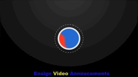 Thumbnail for entry Ensign Video Announcements for April 27th-May-1st