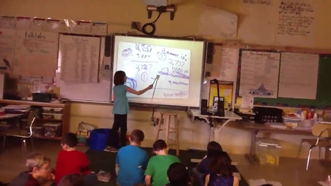 Thumbnail for entry Explanation of Subtraction Problem Video Grade 3, Standard 3, Evidence of Learning