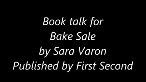 Thumbnail for entry Bake Sale book talk
