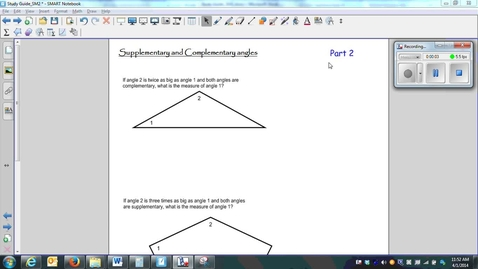 Thumbnail for entry (SG_SM2)-13-Supplementary and Complementary angles_part 2