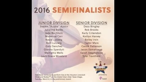 Thumbnail for entry Tyler Trantham HLSR Finals