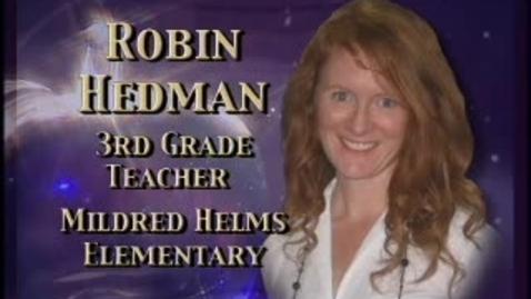 Thumbnail for entry Robin Hedman-Teacher profile