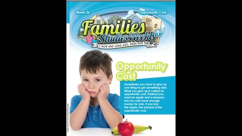 Thumbnail for entry Studies Weekly Opporunity Cost