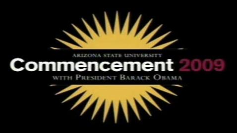Thumbnail for entry Oscar Vazquez at ASU Graduation