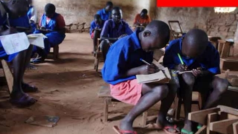Thumbnail for entry Literacy in South Sudan