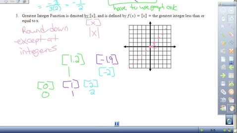 Thumbnail for entry 1.2 Pre-calculus end of notes