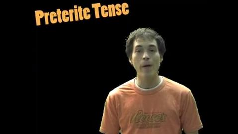 Thumbnail for entry Preterite: Regular -ER Verbs by Señor Jordan