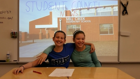Thumbnail for entry Emerson Student Council News - January 2016