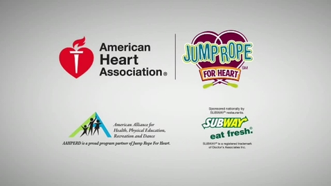 Thumbnail for entry 2012-2013 Jump Rope for Heart Intro Video
