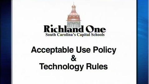 Thumbnail for entry Richland One Orientation - IT Executive Director Luke Fox