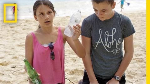 Thumbnail for entry Kids Take Action Against Ocean Plastic | Short Film Showcase
