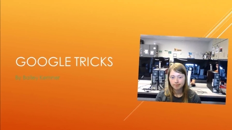 Thumbnail for entry Google Tricks by BK