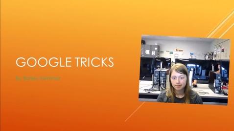 Thumbnail for entry Google Tricks by BK