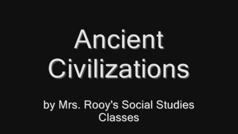 Thumbnail for entry Rooy Ancient Civilization