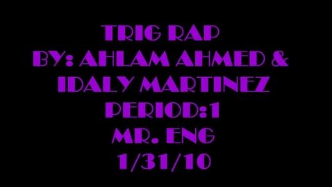 Thumbnail for entry Trig Rap