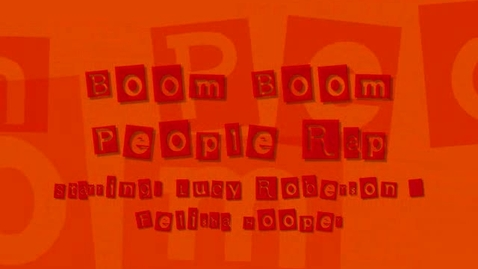 Thumbnail for entry Boom Boom People Rap