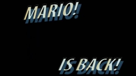 Thumbnail for entry mario music video