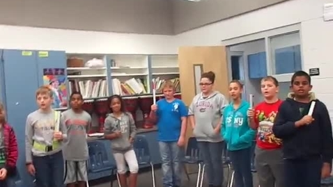 """Thumbnail for entry 13-14 Ms. Bartczack's 5th grade class """"Jingle Bells"""""""
