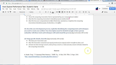 Thumbnail for entry How to List and Cite Sources in Written Response