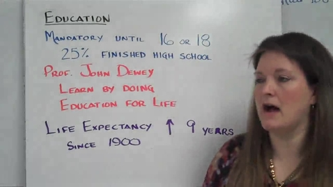 Thumbnail for entry APUSH Ch. 31 Video 2