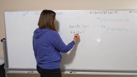 Thumbnail for entry Algebra #4