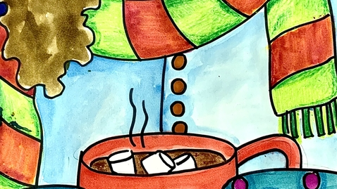 Thumbnail for entry Winter Hot Chocolate Self-Portrait