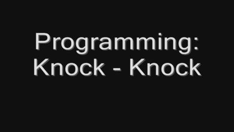Thumbnail for entry Alice Programing