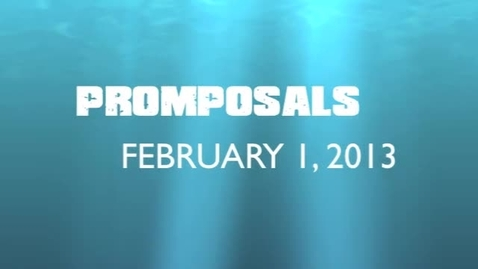 Thumbnail for entry Video Exclusive: Promposals