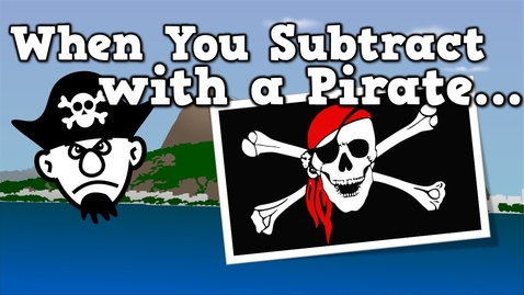 Thumbnail for entry When You Subtract with a Pirate (subtraction song for kids)