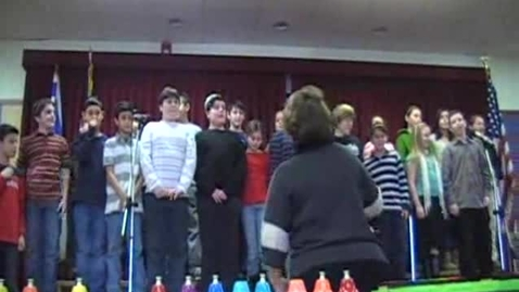 Thumbnail for entry Abrams 2008 Hanukkah Concert - Grade 5, Part 2