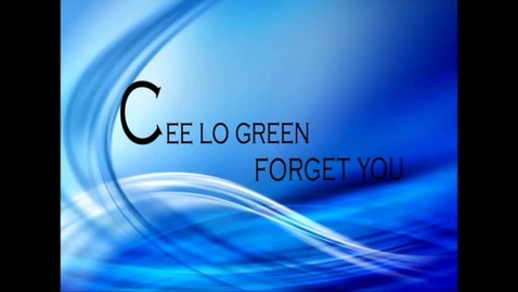 Thumbnail for entry Forget You - Type Animation - Chez Babin