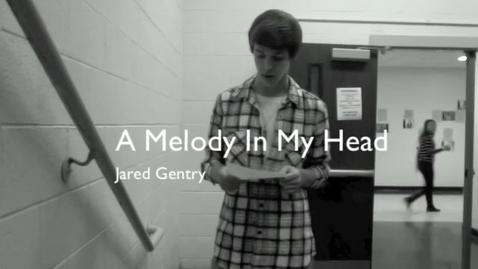 Thumbnail for entry Jared sings 'Melody in My Head'