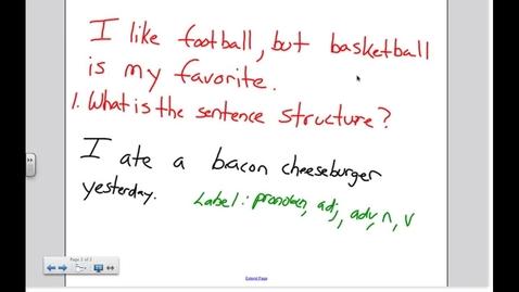 Thumbnail for entry Daily Warmup - English 8/23/2012