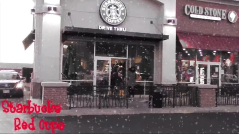 Thumbnail for entry Starbucks Red Cups - WSCN