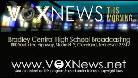Thumbnail for entry VOX News this Morning for Thursday, February 25, 2016