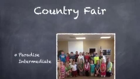Thumbnail for entry Paradise Intermediate Country Fair