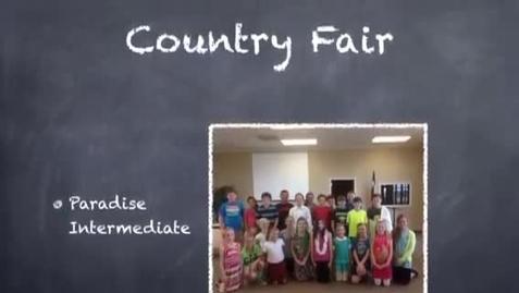 Thumbnail for entry Paradise Intermediate Country Fair