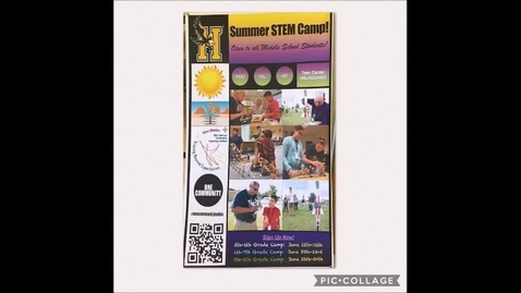 Thumbnail for entry STEM Camp 2017 Photo Montage