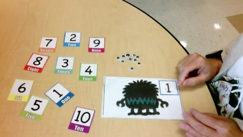 Thumbnail for entry Lesson: Monster Eyes Counting Game