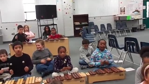 """Thumbnail for entry Ms. Carr's 3rd grade class """"When the Saints Go Marching In"""""""