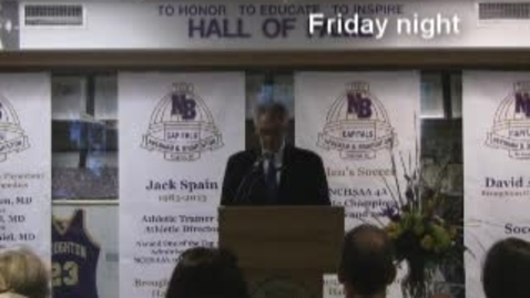Thumbnail for entry 13-14 Athletic Hall of Fame - Coach Spain